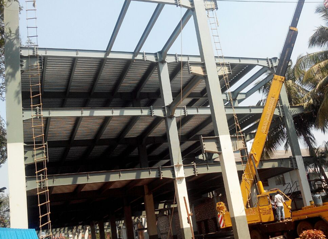 Our Industrial Structural Turnkey Project Build High Rise